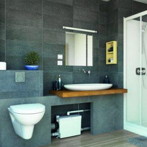 sanipack saniflo toilet