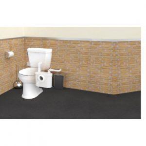sanitop saniflo toilet