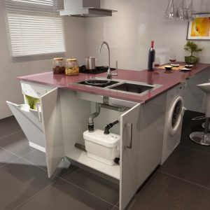sanivite saniflo kitchen
