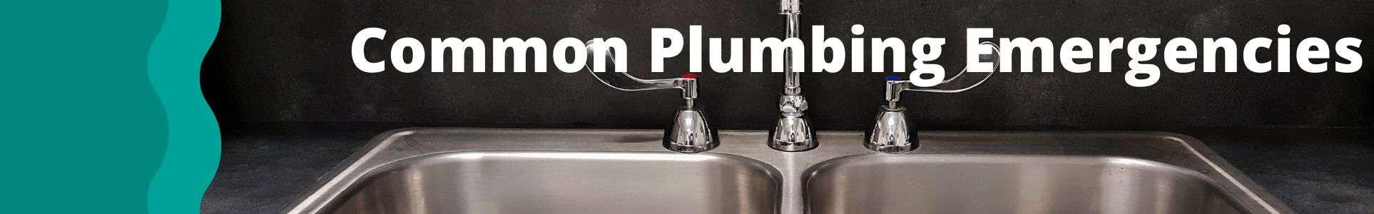 common plumbing emergencies